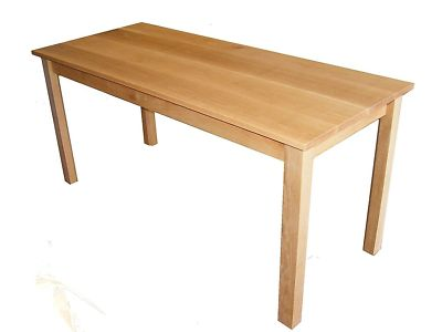 Solid  Dining Tables on Solid Handmade Oak Dining Table